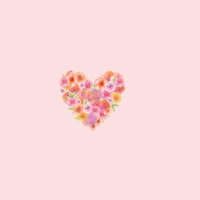 Valentijn hart bloemen 2