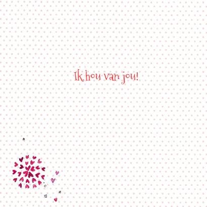 Valentijn hartjes hart Vrolijk 3
