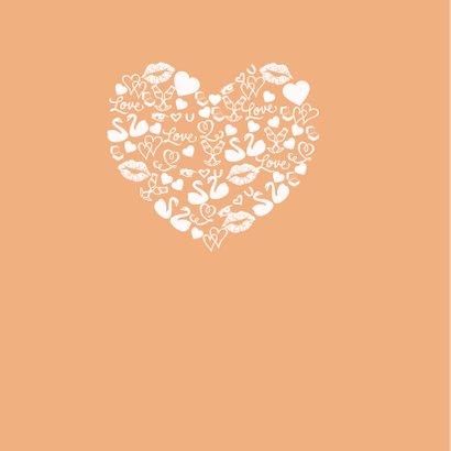 Valentijn icoonhart poeder roze 2