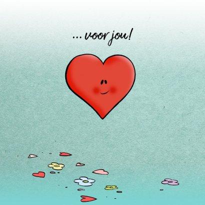 Valentijn Loeki Cupido hart - A 3