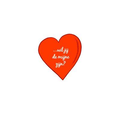 Valentijn Loeki groot hart A 3