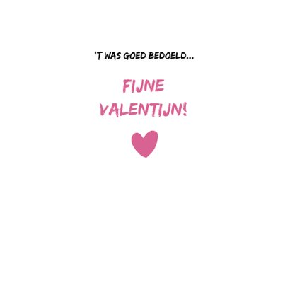 Valentijn Loeki hartjes huis - A 3