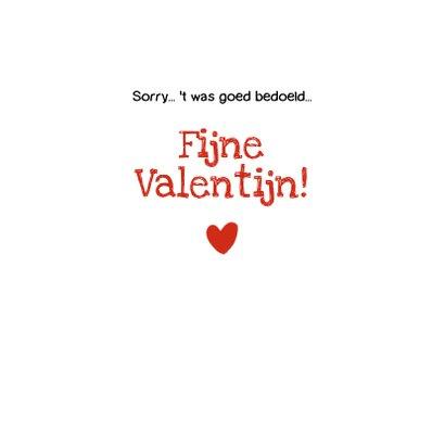 Valentijn strip Loeki robot met rozen - A 3