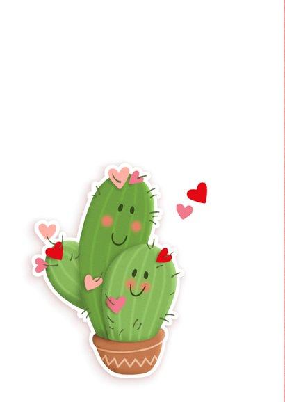 Valentijn stuck on you cactus 2