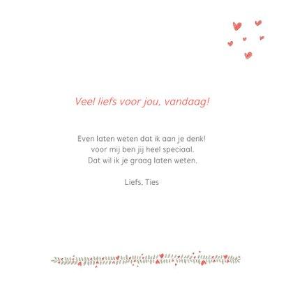 Valentijn - twee lama's happy valentine 3