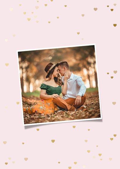 Valentijnskaart 12 maanden fotocollage polaroid 2