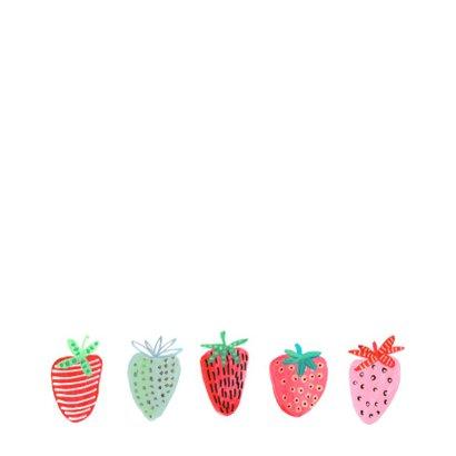 Valentijnskaart aardbeien berry sweet 2