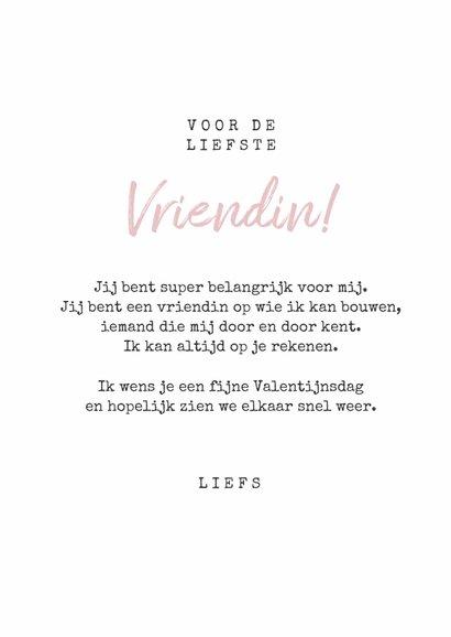 Valentijnskaart bedankt bloemen foto vriendschap 3