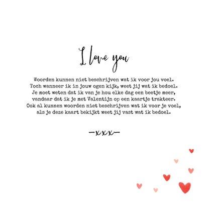 Valentijnskaart foto hartjes persoonlijk liefde  3