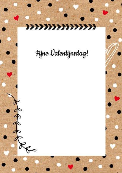 Valentijnskaart foto zwartwit 3