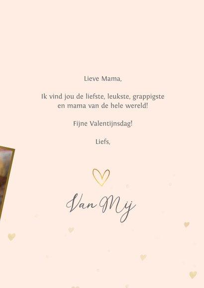 Valentijnskaart fotokaart voor de liefste mama / moeder! 3