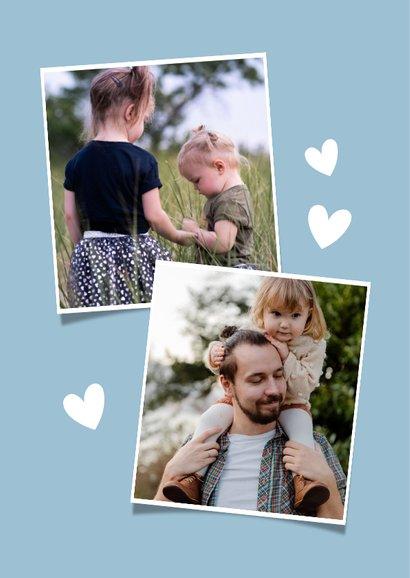 Valentijnskaart handlettering voor de liefste papa of opa 2