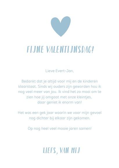 Valentijnskaart handlettering voor de liefste papa of opa 3