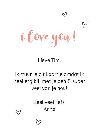 Valentijnskaart - Ik lief jou 3