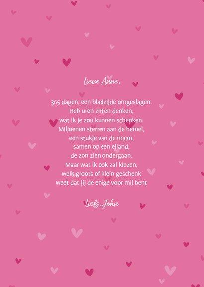 Valentijnskaart ik vind je lief hartjes 3