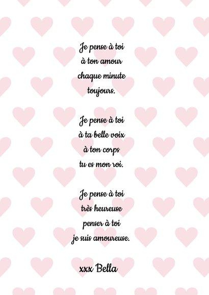 Valentijnskaart Je t'aime 3