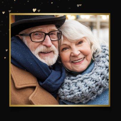 Valentijnskaart - jij bent mijn lichtpuntje met hartjes  2