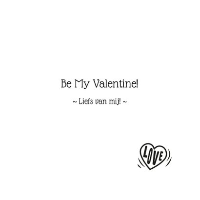 Valentijnskaart - Konijntjes in hartje 3