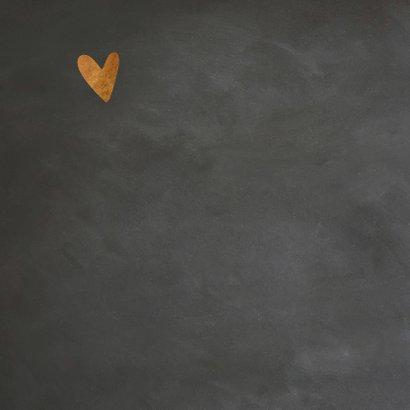 Valentijnskaart krijt - LO 2