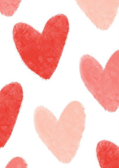 Valentijnskaart liefde hartjes foto hart gestolen 2