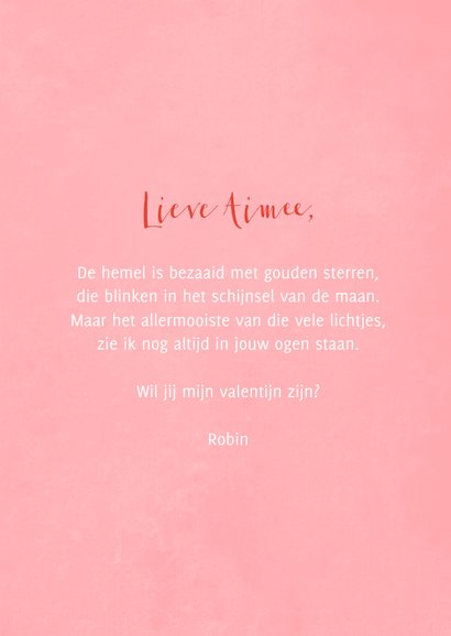 Valentijnskaart long distance valentine kisses met kusjes 3
