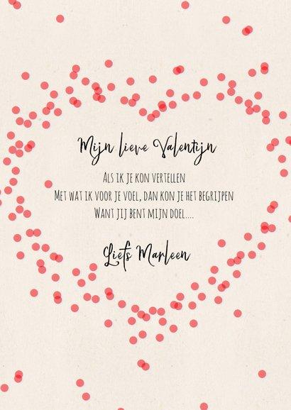 Valentijnskaart met aardbeien Love you berry much! 3
