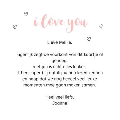 Valentijnskaart - Met jou is alles leuker 3