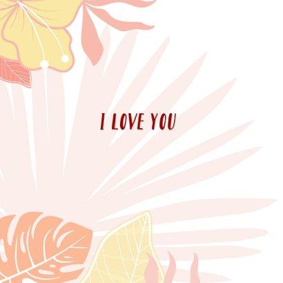 Valentijnskaart met luiaard 2