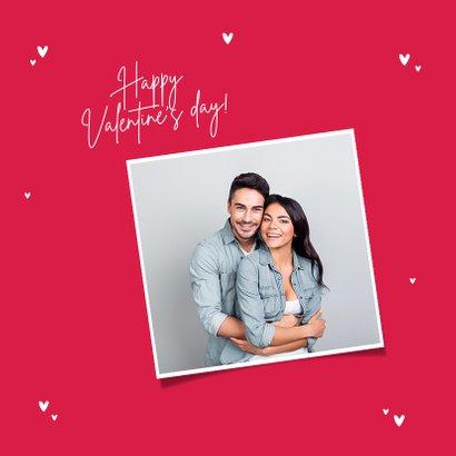 Valentijnskaart mondkapje hartje i love you 2