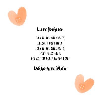Valentijnskaart pleisters hartjes 3