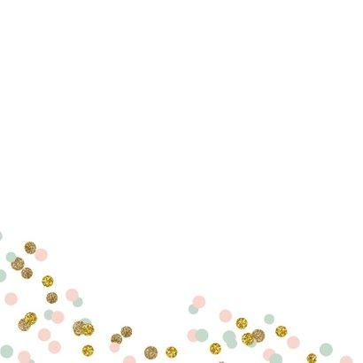 Valentijnskaart praatwolk confetti 2