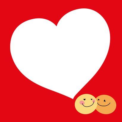 Valentijnskaart Smiley lief 3