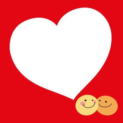 Valentijnskaart Smiley 3