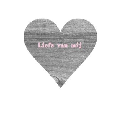 Valentijnskaart smiling heart 3