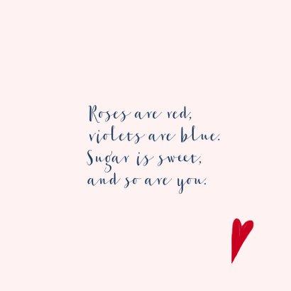 Valentijnskaart True love 3