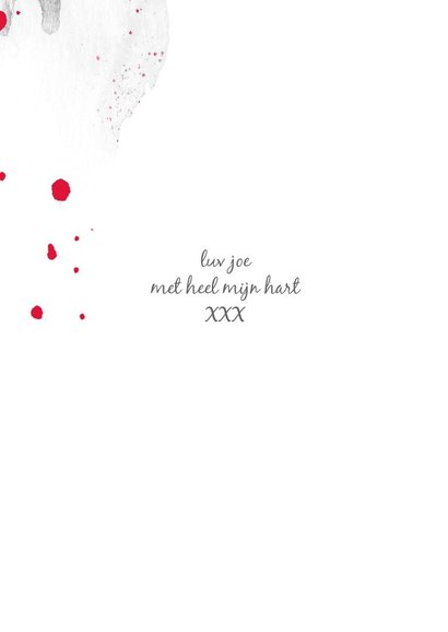 Valentijnskaart Valentijn Hart 3