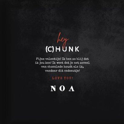 Valentijnskaart voor de leukste chocolade (c)hunk  3
