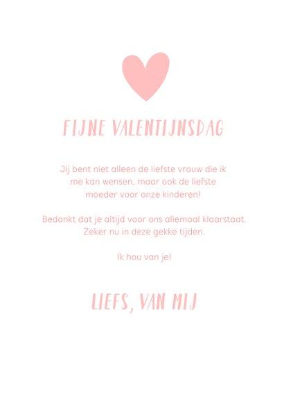 Valentijnskaart voor de liefste mama moeder van de wereld 3
