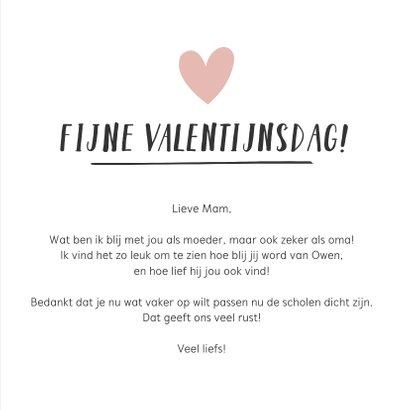 Valentijnskaart voor de liefste oma van de wereld 3