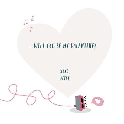 Valentijnskaart voor de muziekliefhebber 3