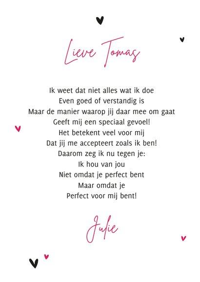 Valentijnskaart you rock my world stoer muziek hartjes 3