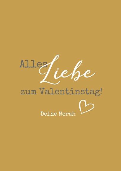 Valentinskarte 'Du bist das Beste' 3