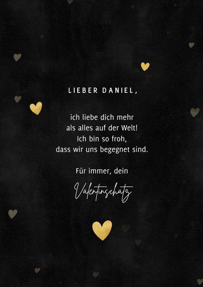 Valentinskarte Foto in Herz 3