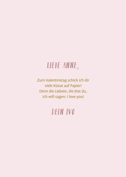 Valentinskarte Fotocollage Zwölf Monate 3