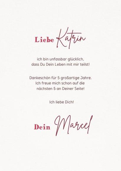 Valentinskarte Liebesschloss 3