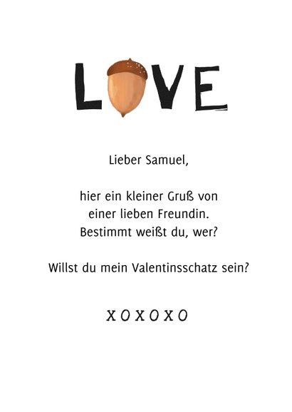 Valentinskarte lustig 'So nuts about you' 3