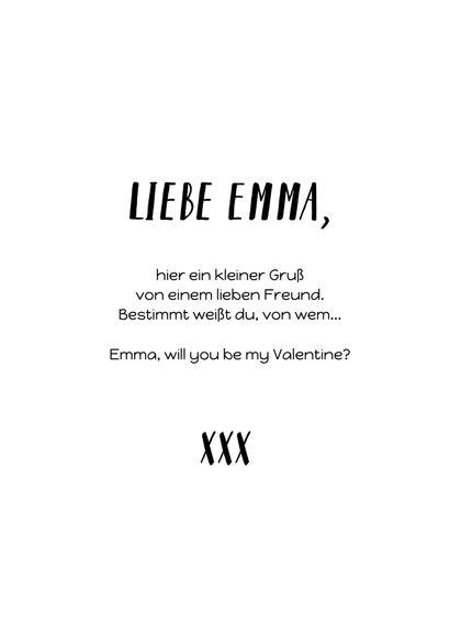 Valentinskarte mit Instagram Likes 3