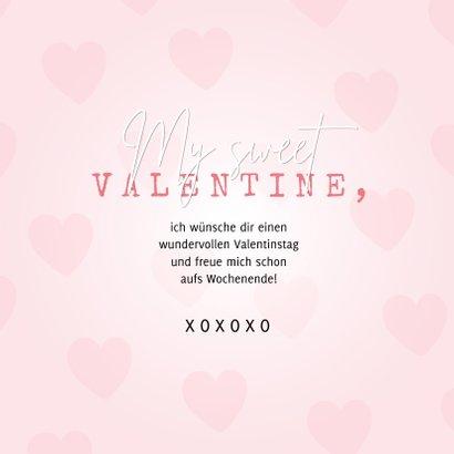 Valentinskarte Süßes Herz 3