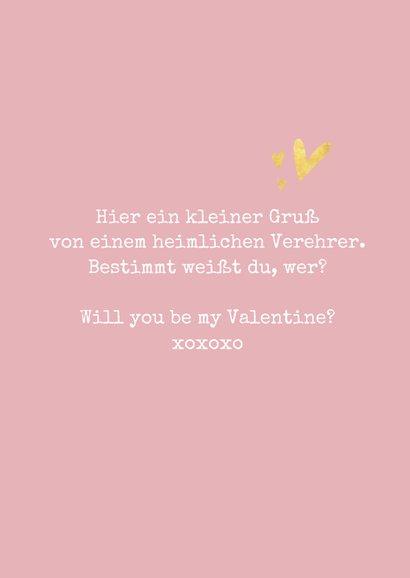 Valentinskarte 'You & me, oui' 3