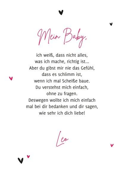 Valentinskarte 'You rock my world' 3